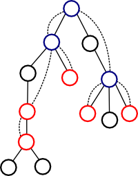 Example of compressed tree